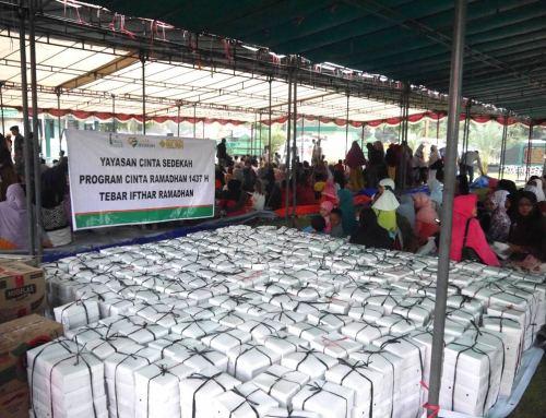 Tebar Ifthor Ramadhan 1437H di Cirebon