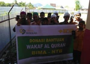 Wakaf Al-Quran Bima 10