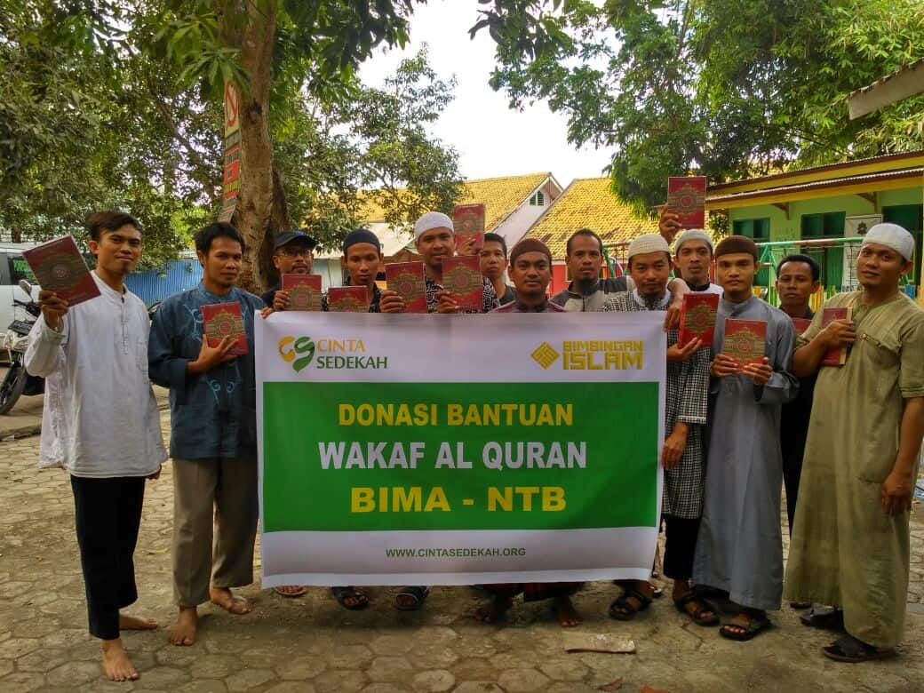 Wakaf Al-quran bima-NTB 21