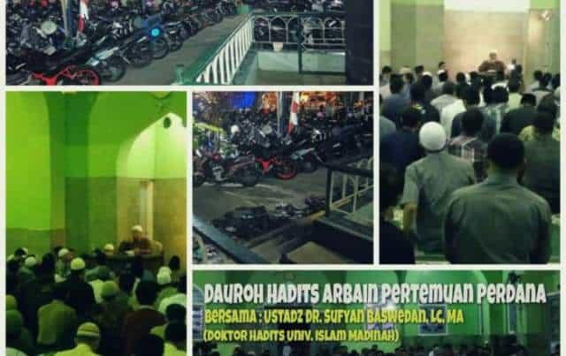 Dauroh-Perdana-Hadits-Arbain-700x441