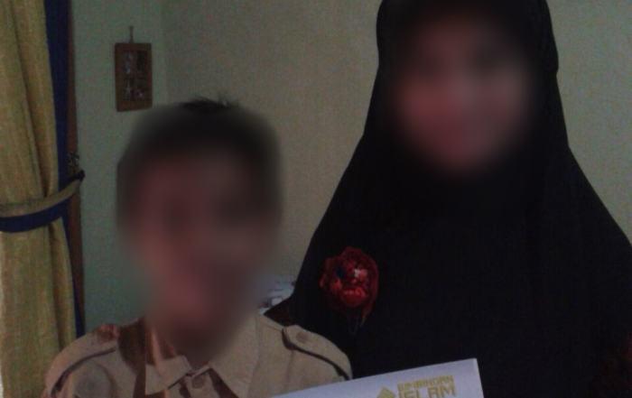 Donasi Peduli Sahabat BIAS untuk Putra dari Ukhti Dian Ariadita