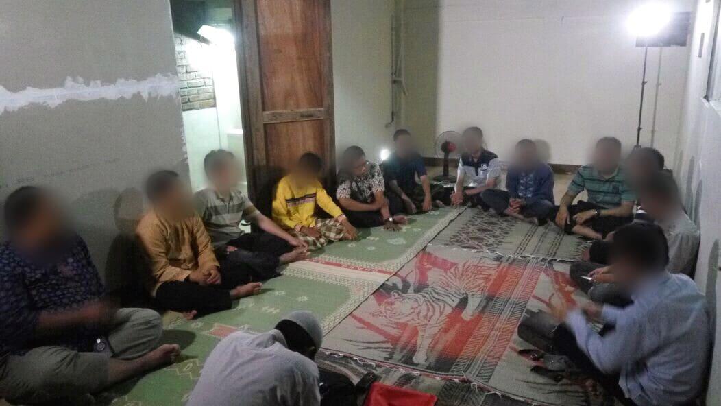 Program Wisma Bimbingan Islam bekerjasama dengan Yayasan Cinta Sedekah