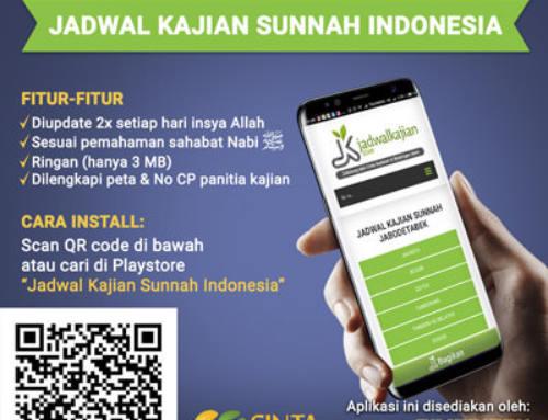 Telah Hadir!.. Aplikasi Jadwal Kajian Sunnah Indonesia