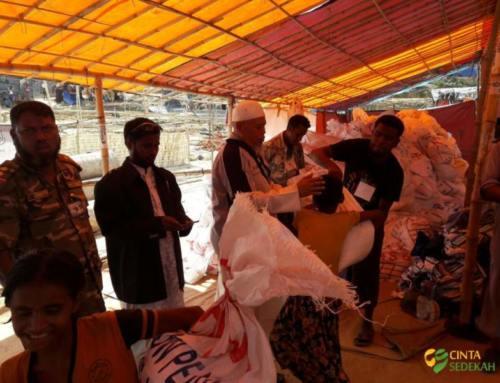 Penyaluran Bantuan Peduli Rohingya II 05