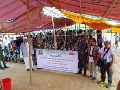 Penyaluran Bantuan Peduli Rohingya II 02