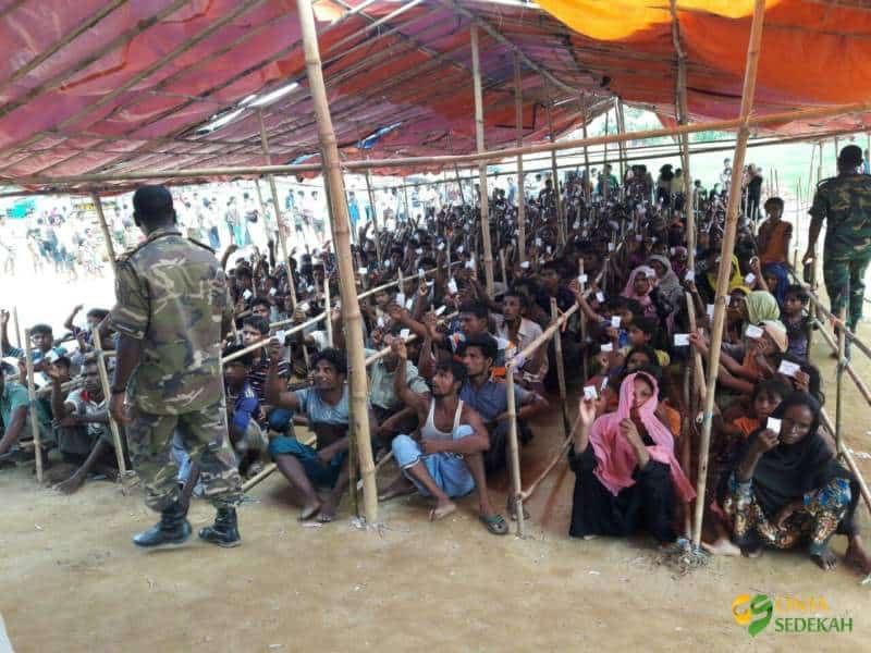 Penyaluran Bantuan Peduli Rohingya II 09