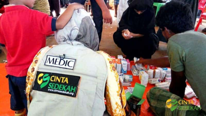 Penyaluran Bantuan Peduli Rohingya II 03