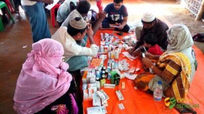 Penyaluran Bantuan Peduli Rohingya II 07