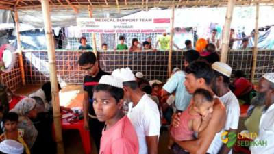 Penyaluran Bantuan Peduli Rohingya II 06