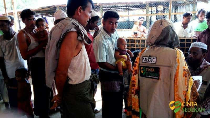 Penyaluran Bantuan Peduli Rohingya II 08