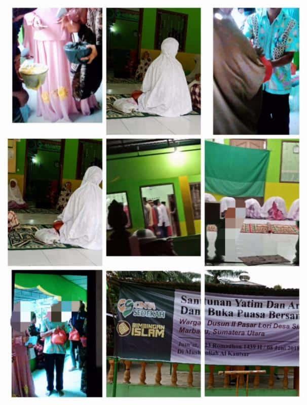 Laporan Santunan Fakir Miskin Dan Ifthor Di Desa Simpang Empat
