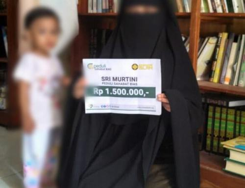 Bantuan Biaya Pendidikan Untuk Keluarga Ibu Sri Murtini
