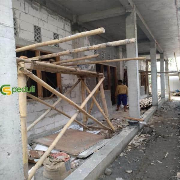Bantuan Wakaf Untuk Pembangunan Fasilitas Pesantren Yaumi Yogyakarta 1