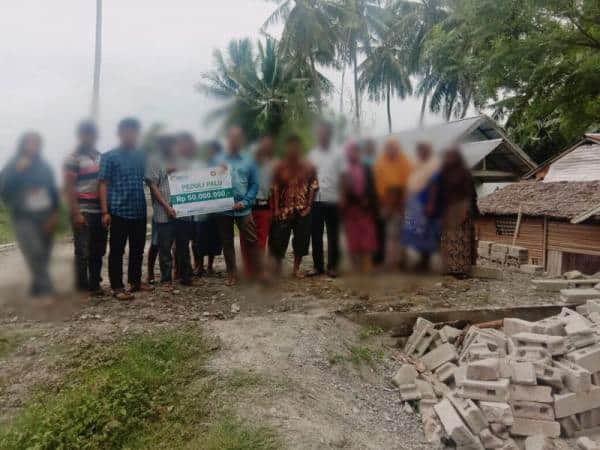 CS Peduli Palu - Pembangunan Masjid di Balaesang Palu 01