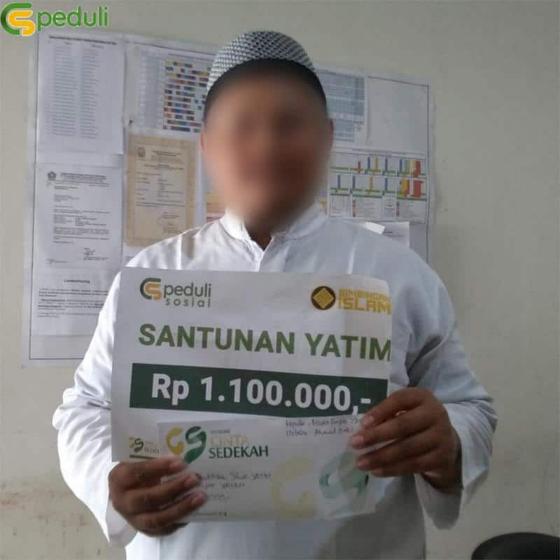 Santunan Anak Yatim Pondok Pesantren Tahfidz Yaumi Yogyakarta