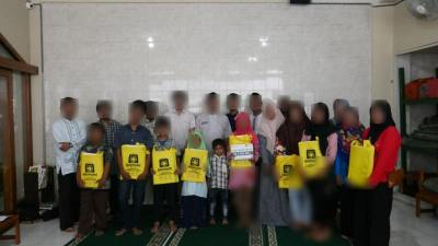 CS Peduli Sosial - Santunan Anak Yatim TPA Nurul Hidayah