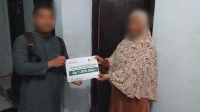 Pembelian Seragam Pengajian Ibu-Ibu Majlis Taklim Masjid Al Ikhlas Karangasem Sleman