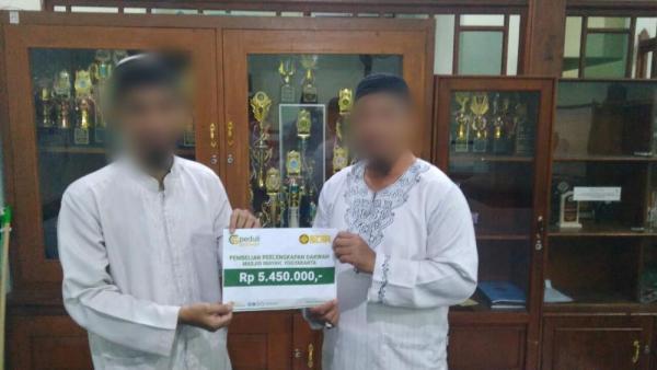 Bantuan Perlengkapan Dakwah Masjid Jami Al-Inayah Iromejan Yogyakarta