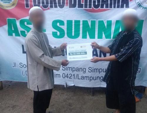 CS Peduli Banten & Lampung – Penyaluran Donasi Bencana Tsunami