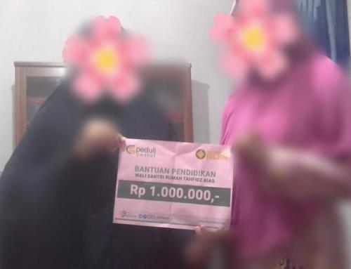 Bantuan Biaya Sosial untuk Wali Santri Rumah Tahfidz Bimbingan Islam, Yogyakarta