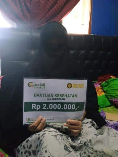 Bantuan Kesehatan Ibu Ida Zubaidah, Jakarta