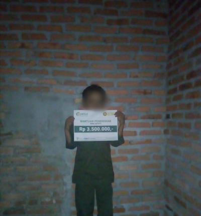 Bantuan Pendidikan Rina Astuti, Bengkalis, Riau