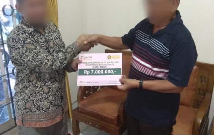 Donasi Ke-3 Pembangunan Masjid Ar-Rahiim Rejowinangun Yogyakarta