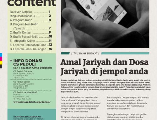 Kabar CS Peduli Edisi Januari 2019