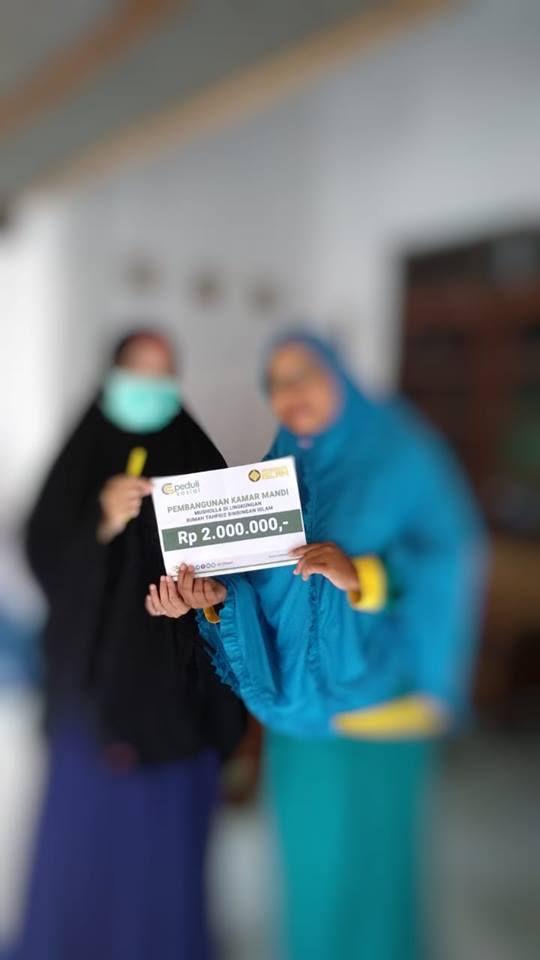 Pembangunan Kamar Mandi Mushola Al-Munawaroh di Lingkungan Rumah Tahfidz Bimbingan Islam, Yogyakarta