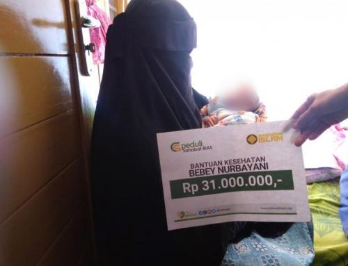 CS Peduli Sahabat BIAS – Bantuan Biaya Kesehatan Ibu Bebey Nurbayani