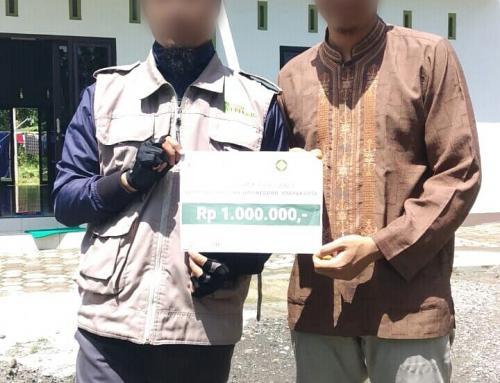 CS Peduli Sosial – Bantuan Ifthor Ramadhan Masjid Jami' al Mubarok Bantul, Yogyakarta