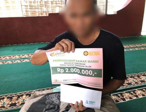 Pembangunan Kamar Mandi Masjid Al – Hakim di Lingkungan Rumah Tahfidz Bimbingan Islam, Yogyakarta