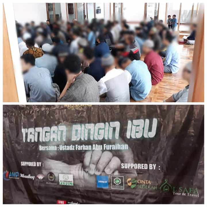 CS Peduli Sosial - Support Tabligh Akbar di Masjid Darur Mutaqin Garut