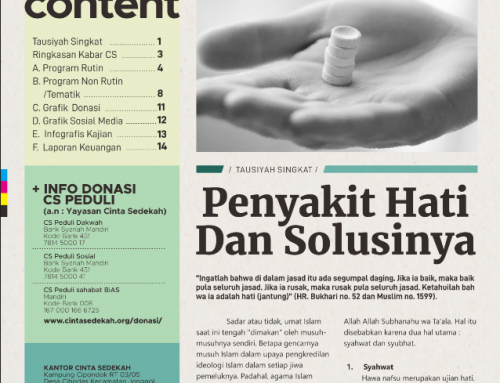 Kabar CS Peduli Edisi Februari 2019