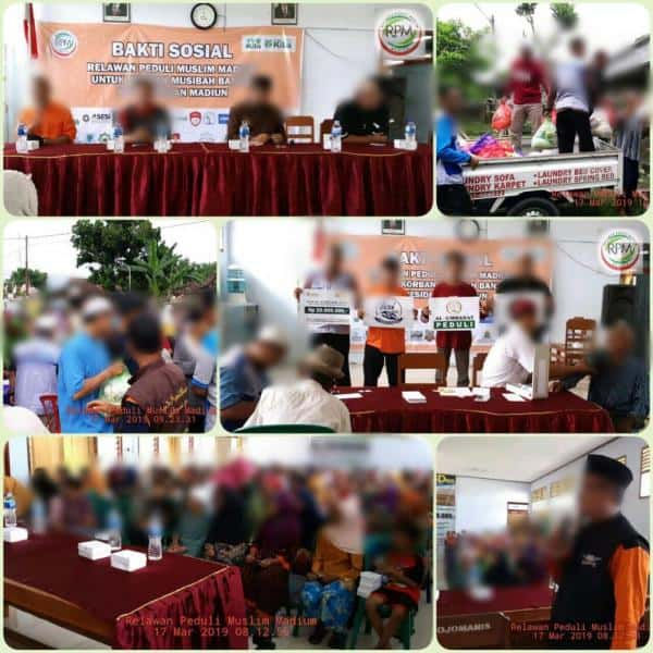 CS Peduli Sosial – Bantuan Banjir Jawa Tengah, Jawa Timur dan Sekitarnya