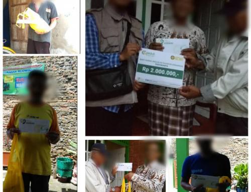 CS Peduli Sosial – Penyaluran 20 Sembako Untuk Warga Tidak Mampu Sekitar Markas Yayasan Cinta Sedekah Rejowinangun Yogyakarta