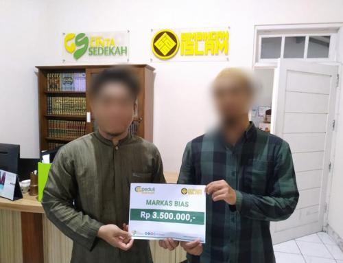 CS Peduli Dakwah – Wakaf donasi Markas BiAS