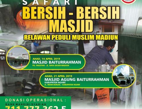 CS Peduli Sosial – Laporan Bantuan Kegiatan Relawan Peduli Muslim Madiun