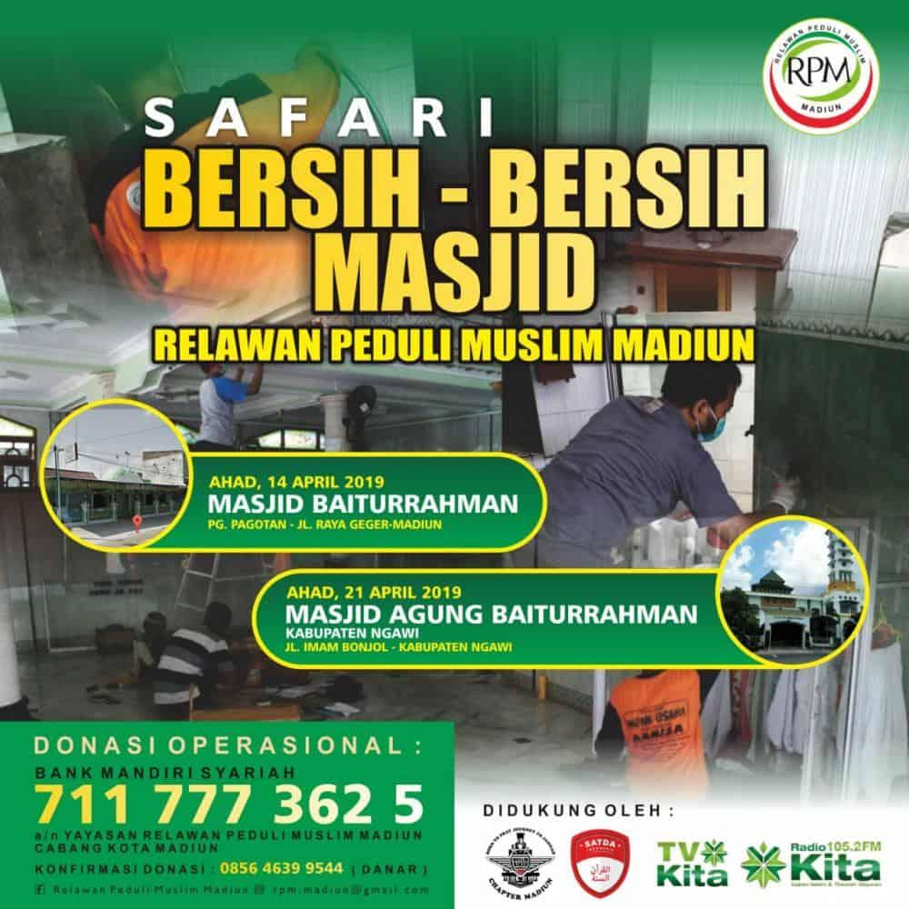 Laporan Bantuan Kegiatan Relawan Peduli Muslim Madiun