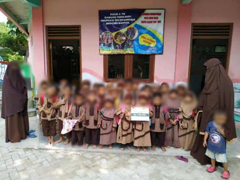 Wakaf TPA & TK Darush sholihin Selopamiro Bantul Yogyakarta