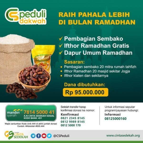 raih pahala lebih di bulan ramadhan