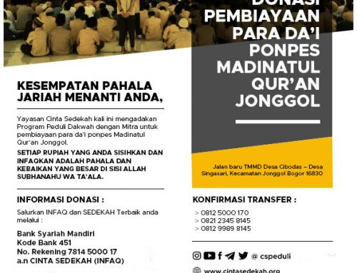 Ponpes Madinatul Qur'an Jonggol