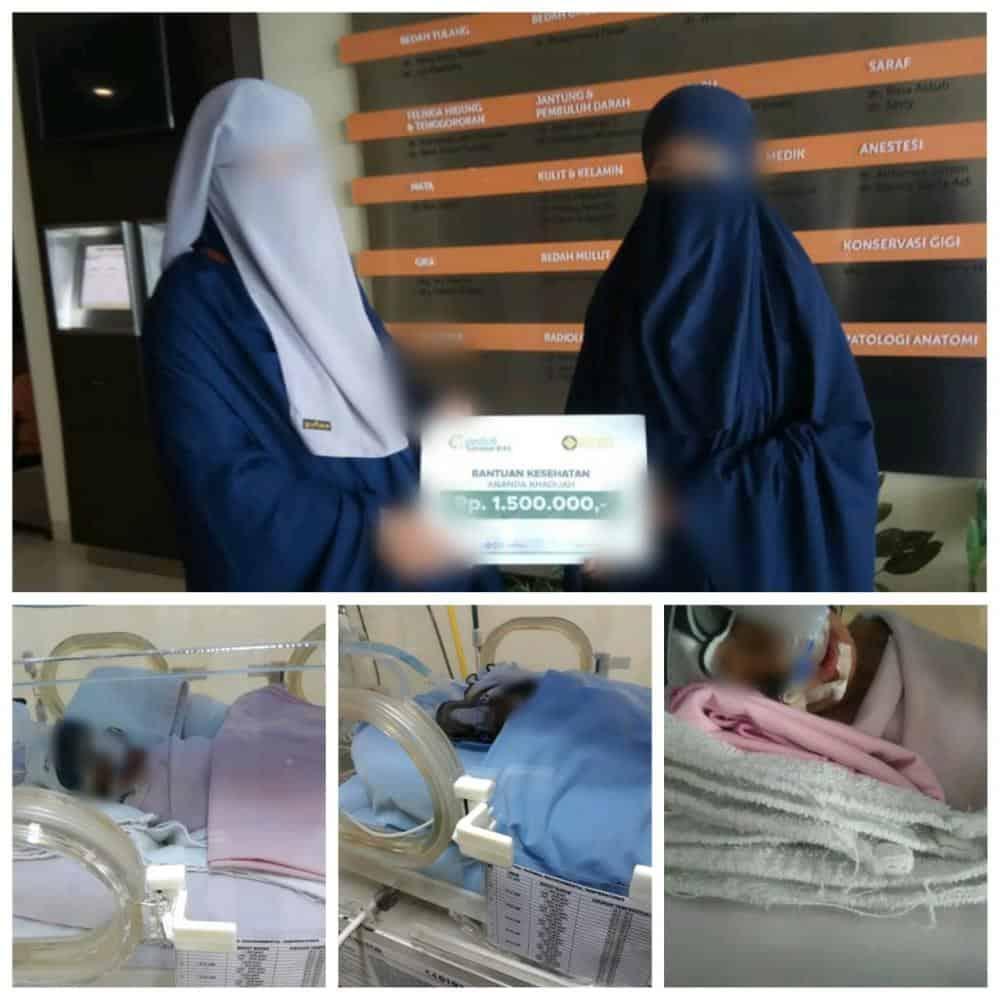 CS Peduli Sahabat BiAS - Bantuan Kesehatan Ananda Khadijah