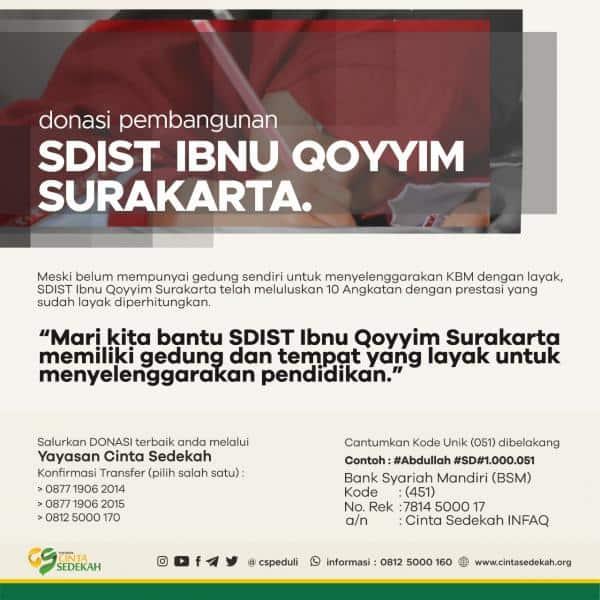 SDIST IBNU QOYYIM - SURAKARTA