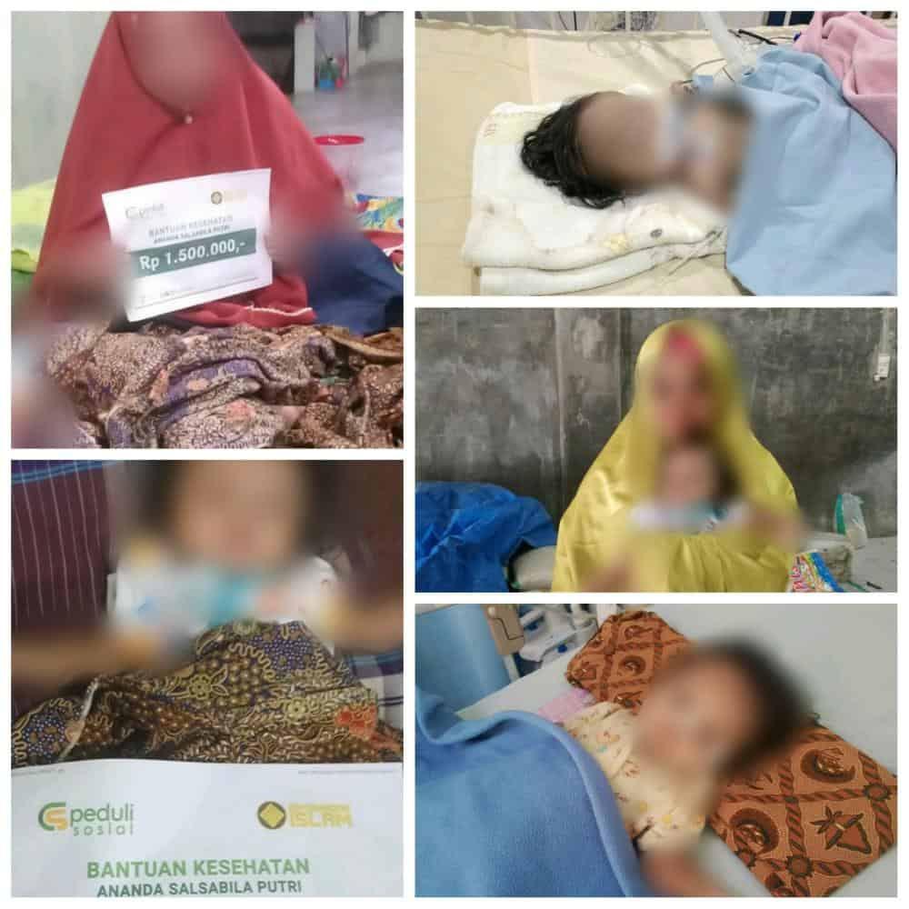 CS Peduli Sosial - Bantuan Kesehatan Ibu Oneng Maharani