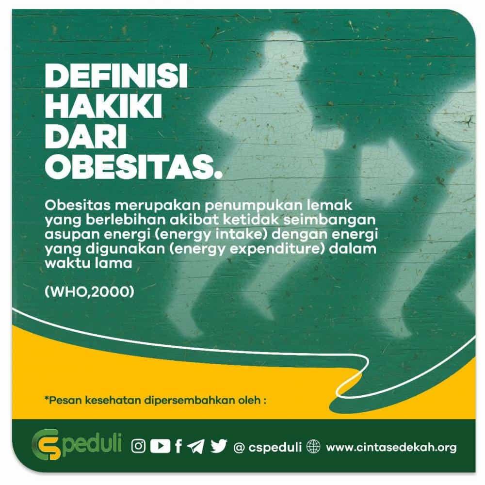 Quote Kesehatan - Definisi Hakiki Dari Obesitas!