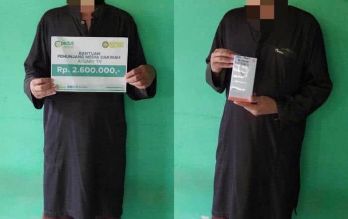 CSPeduli Sosial - Bantuan Penunjang Media Dakwah Atsary TV