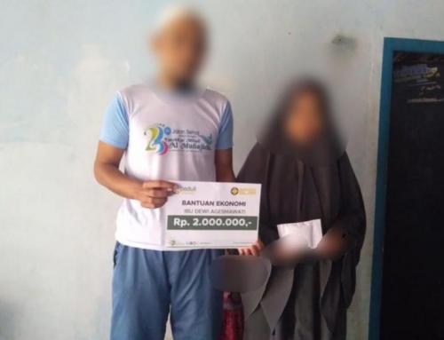 CSPeduli Sosial – Bantuan Pendidikan Ibu Dewi Agesmawati