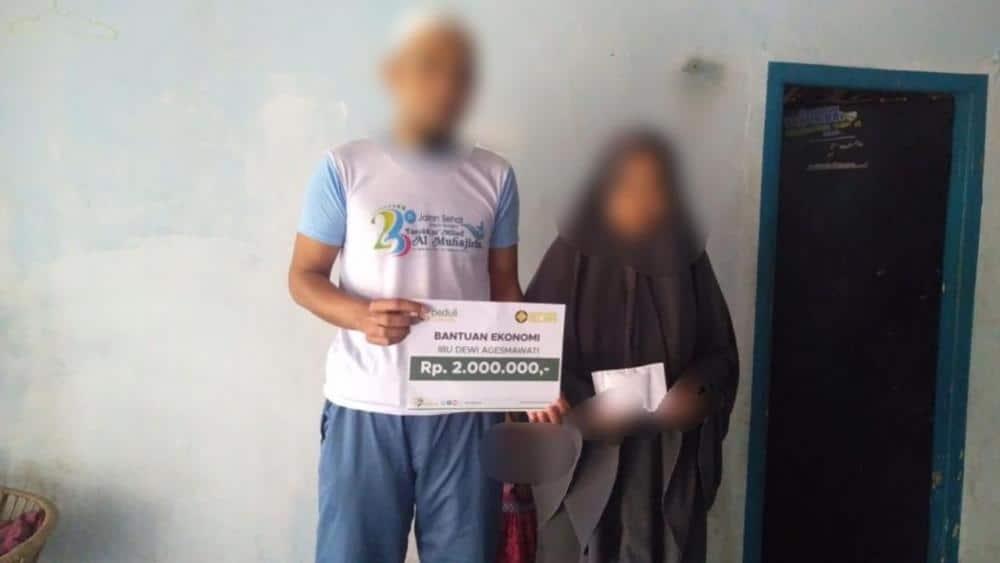 CSPeduli Sosial - Bantuan Pendidikan Ibu Dewi Agesmawati