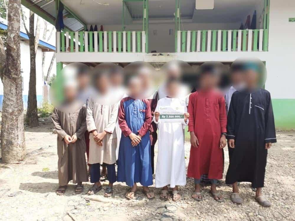 CSPeduli Sosial - Bantuan Biaya Operasional Pondok Pesantren Markiz Daarul Quran was Sunnah di Pekanbaru